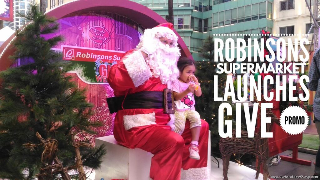 Robinsons Supermarket Give Promo