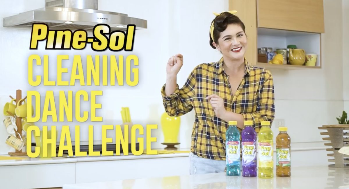 PINE-SOL CLEANING DANCE CHALLENGE