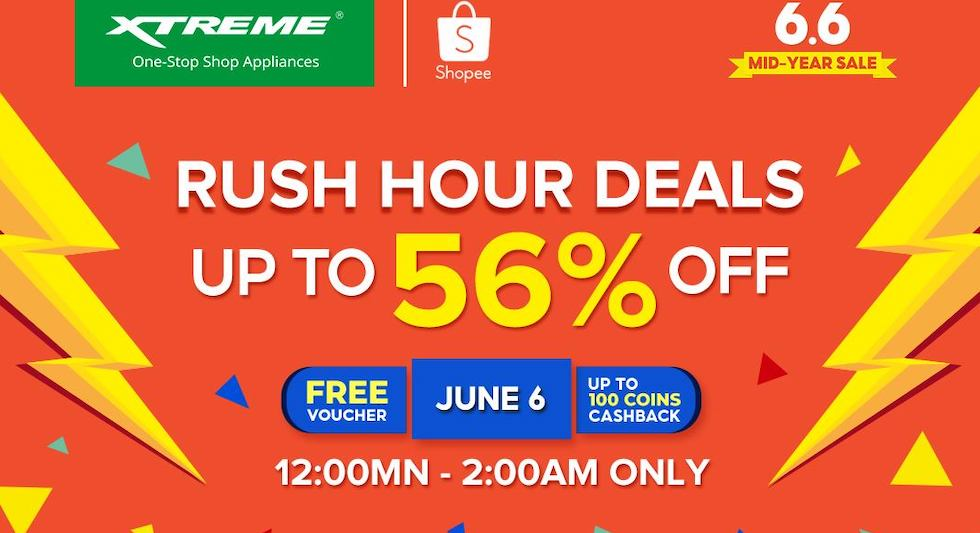 XTREME Appliances 6.6 mid year sale shopee