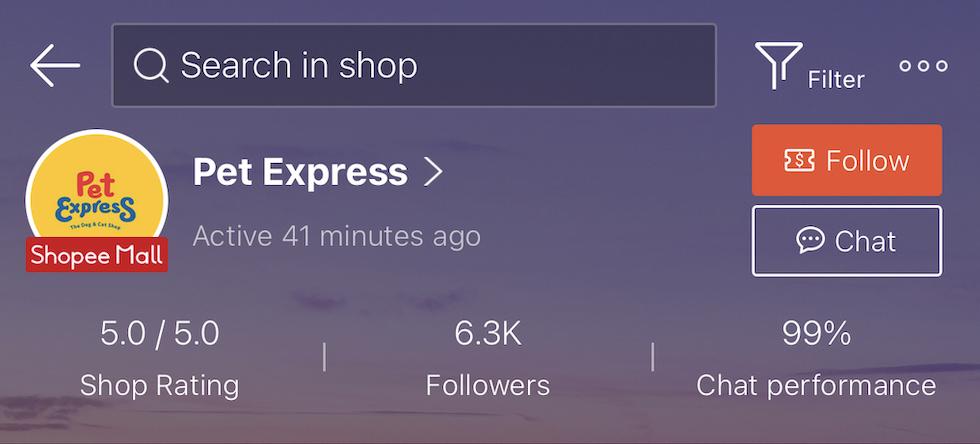 Pet Express PH Shopee